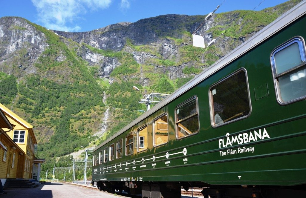 cruise noorwegen flam trein