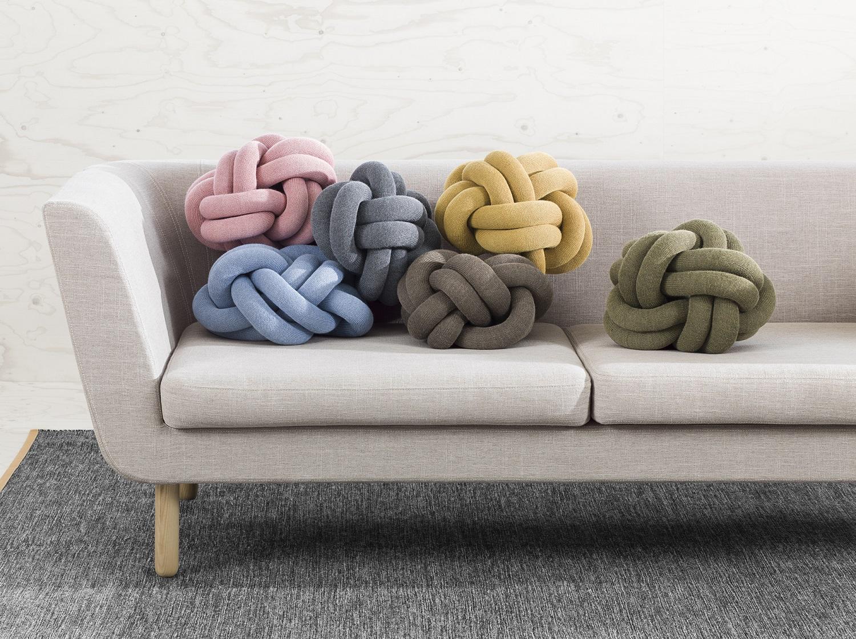 design house stockholm knot kussen
