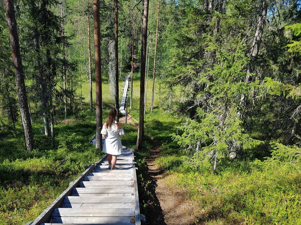 finland hossa wandelen