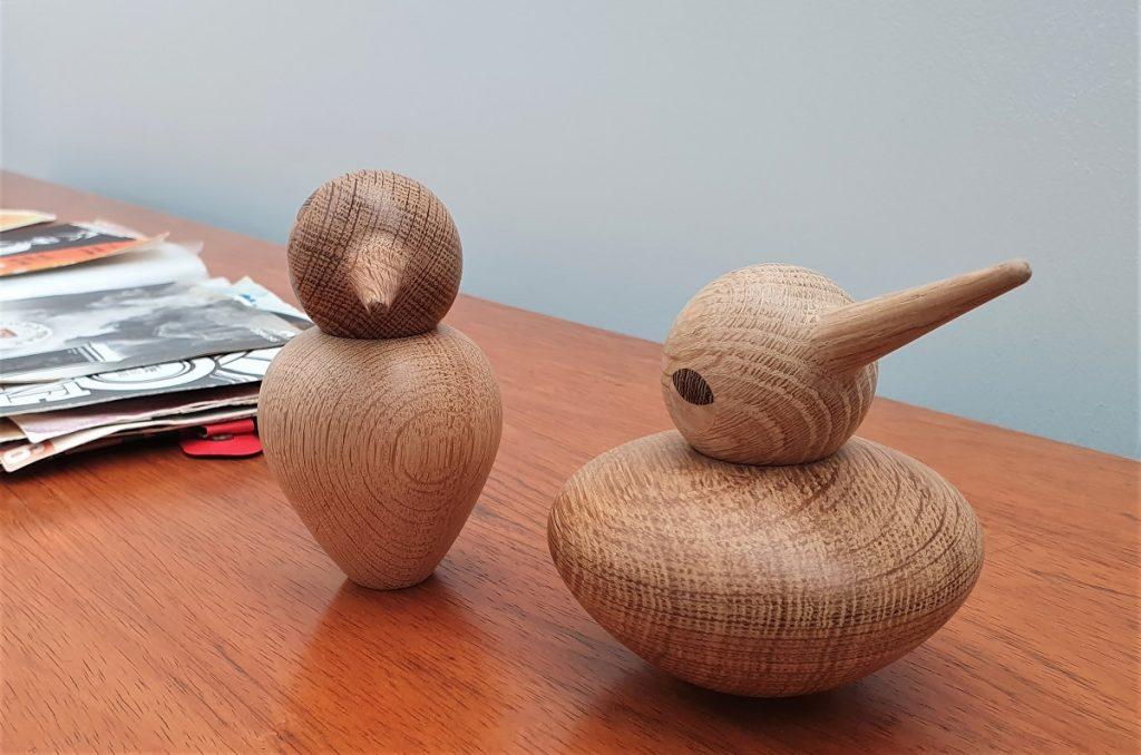 Scandinavische houten figuren