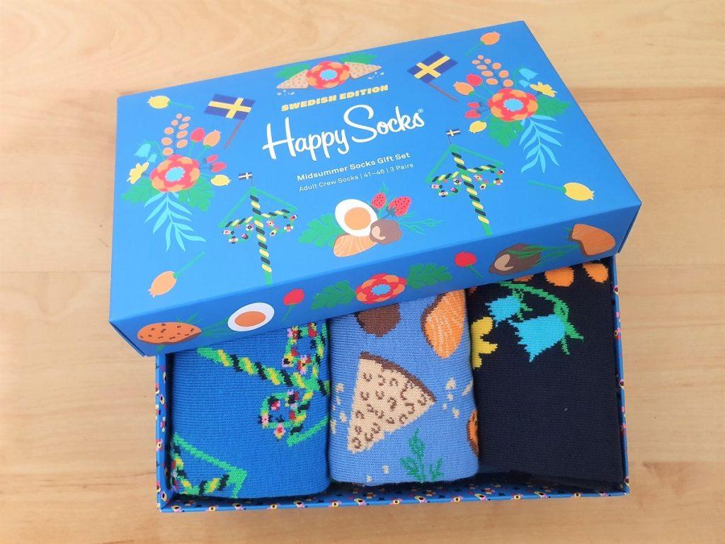 Midzomer sokken van Happy Socks