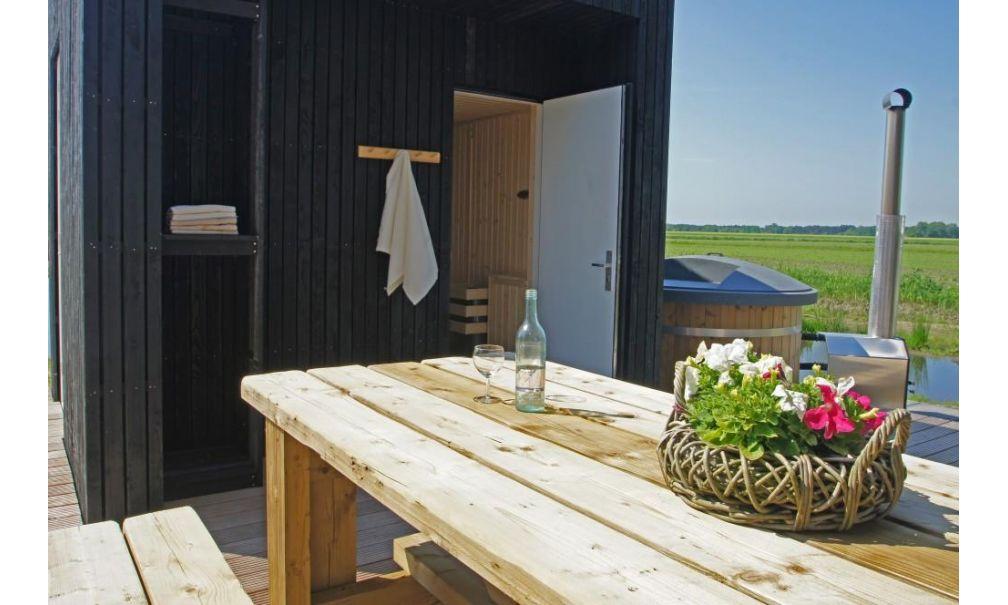 Scandinavische vakantiewoning in Nederland