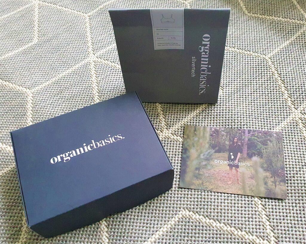 organic basics verpakking