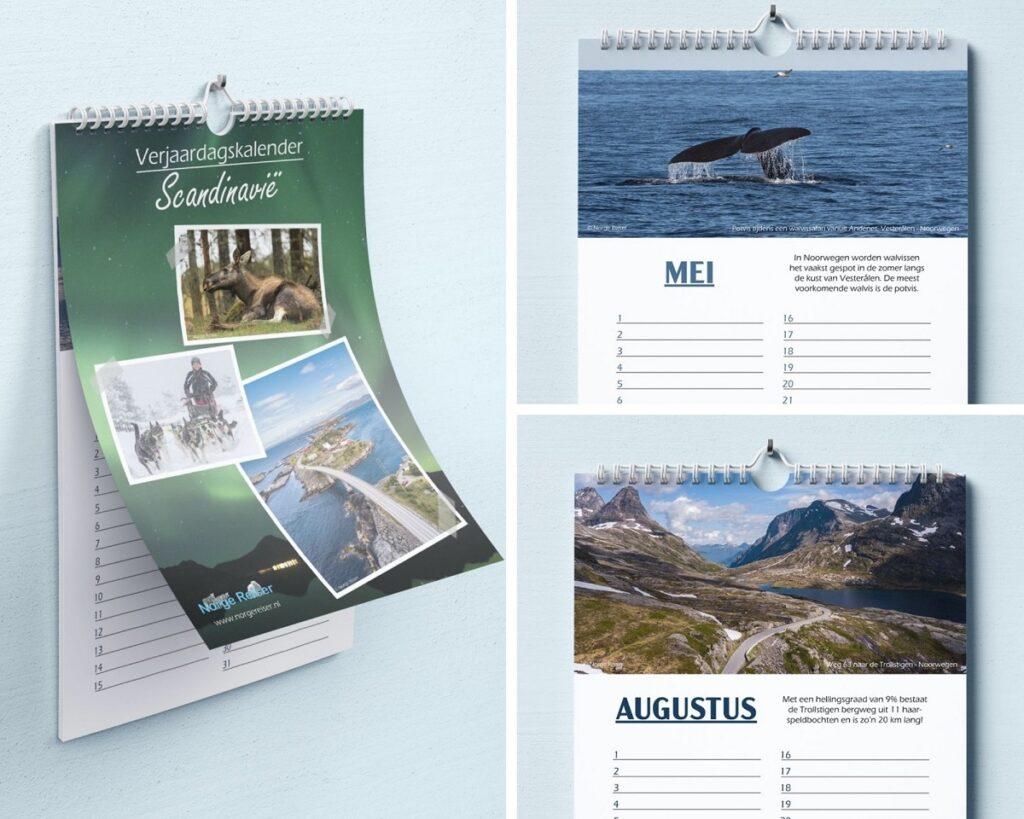kalender norge reiser