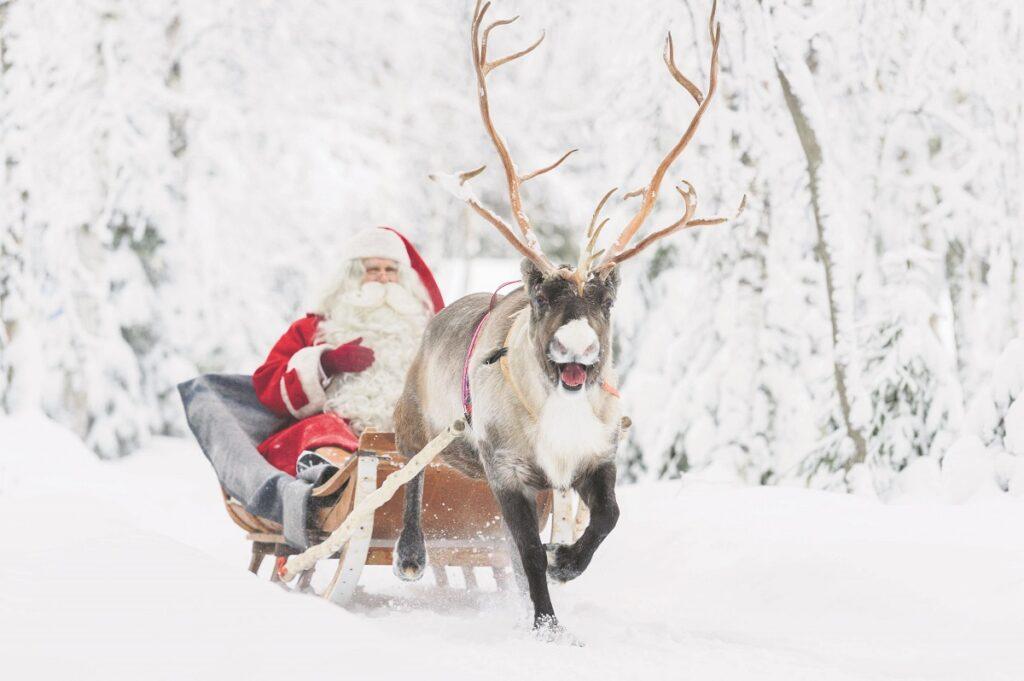 kerstman in Finland