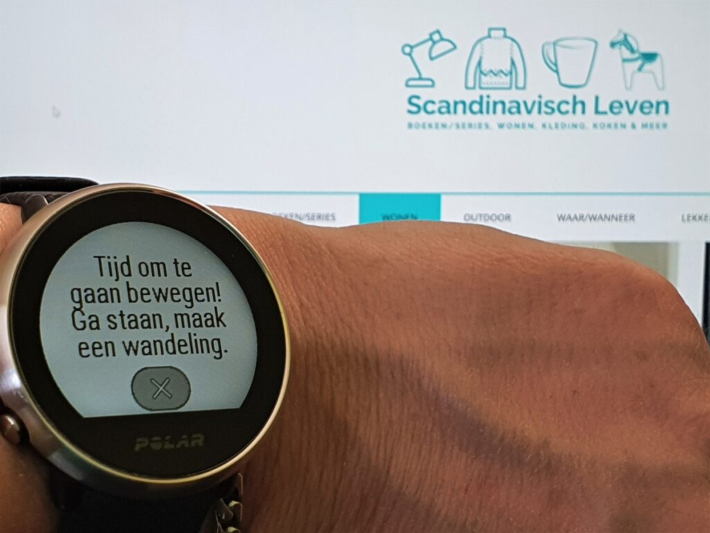 Polar smartwatch