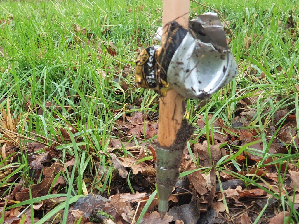 zwerfafval rapen met de CleanWalk-wandelstok