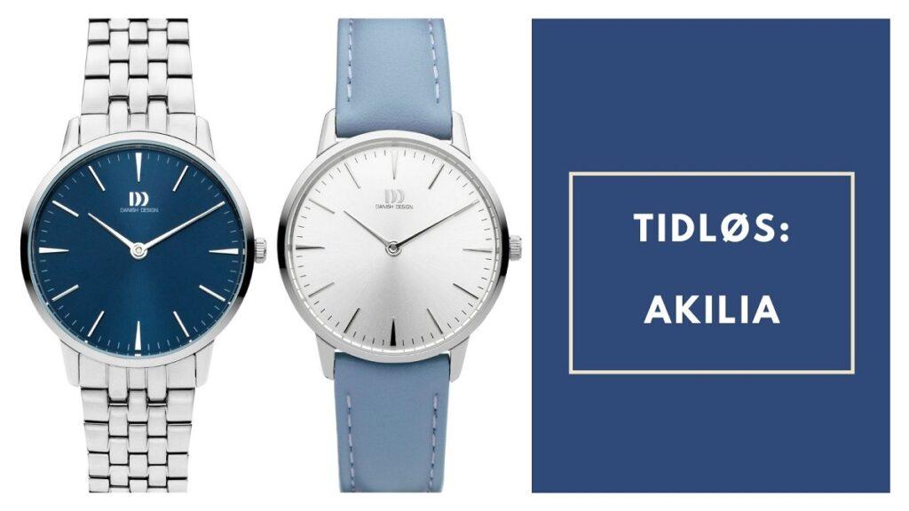 akilia horloges blauw
