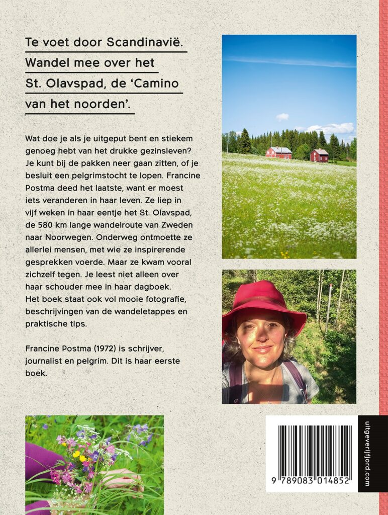 boek Onderweg Alleen over het St Olavspad