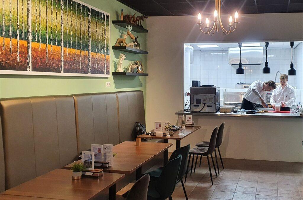 Scandinavisch cafe in Zwolle